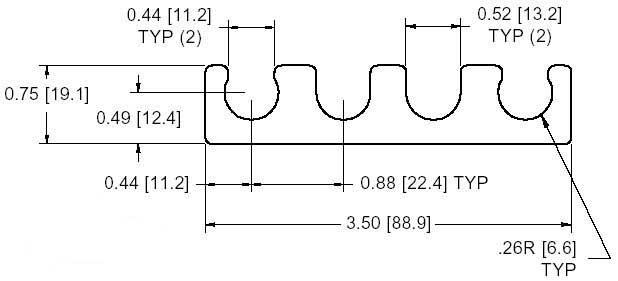 FSD 14059 Series Shim Drawing