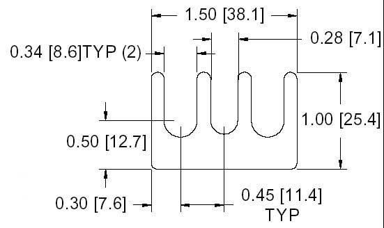FS 15-M Series Shim Drawing