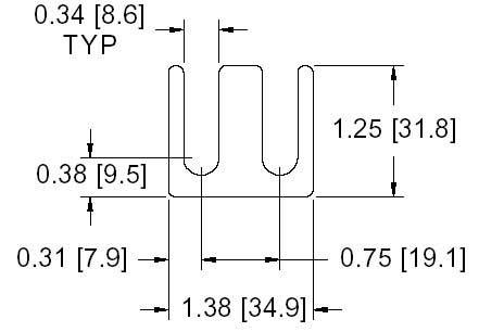 FS 15-R Series Shim Drawing