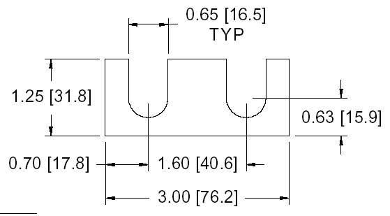 DSCH111 Series Shim Drawing