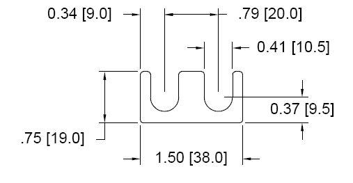 DSCH120 Series Shim Drawing