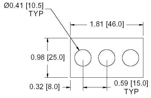 FSD 41294 Metric Thickness Spacer Drawing