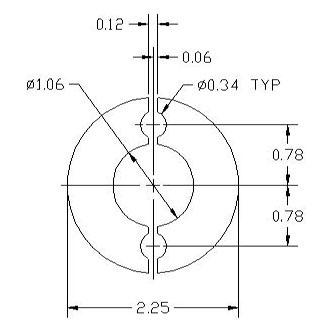 DSCP076 Ring spacer drawing