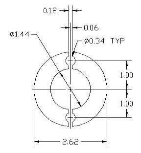 DSCP078 Ring spacer drawing