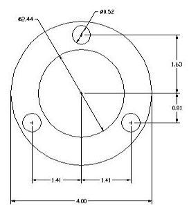 DSCP083 Ring Spacer drawing