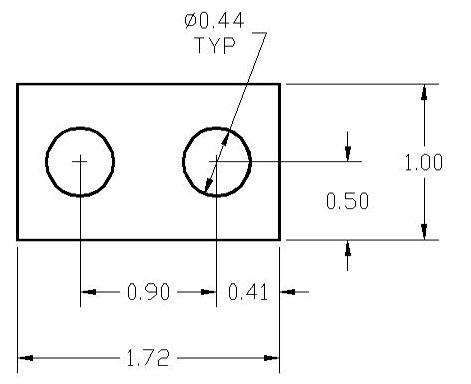 FSD 39279 Metric Thickness Spacer Drawing