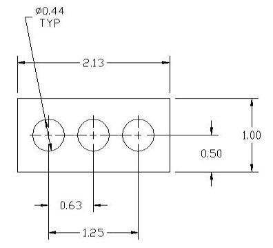 FSD 40875 Metric Thickness Spacer Drawing